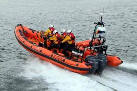 The Bundoran Lifeboat William Henry Liddington launched today