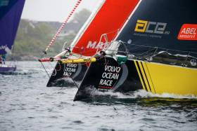 Team Brunel Takes Wire-To-Wire Win Newport Inshore Race