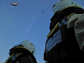 Coastguard Medevac For Injured Crewman On Tanker In Port Of Cork