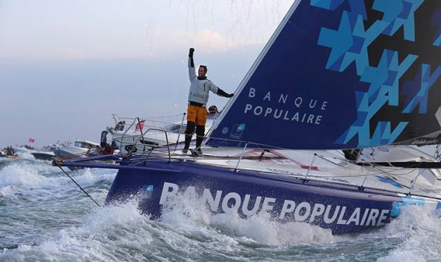 French sailor Armel Le Cléac'h has won the Vendée Globe