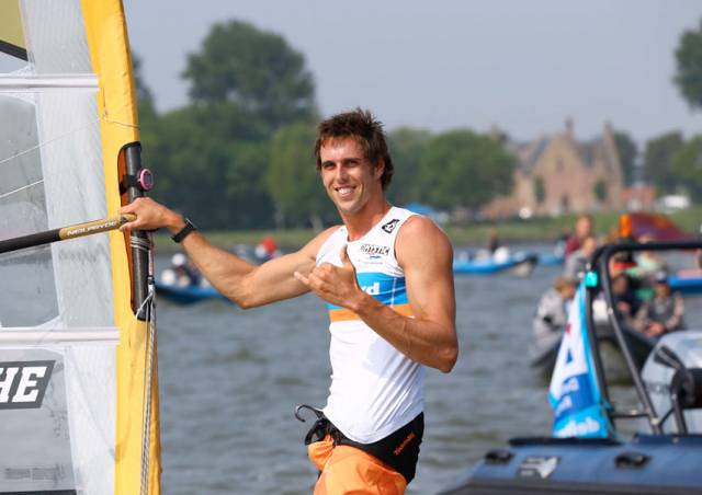 Dorian van Rijsselberghe, who will be competing at the Medemblik Regatta next week