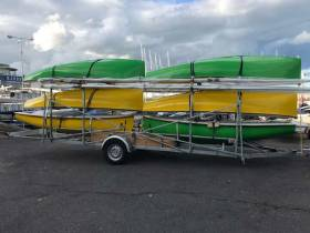 New arrival - The new Firefly dinghies at the RStGYC