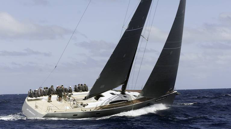 Nin O'Leary of Crosshaven will be racing the Reichel Pugh-designed Marteen 72 Aragon in the Middle Sea Race
