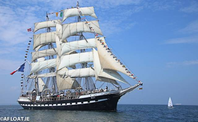 The visit of the Tall Ship Belem was recalled  at the seventh annual prize giving and season Launch event at the Mansion House in Dublin at the weekend