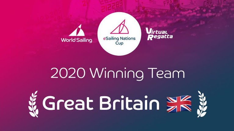 Great Britain Wins eSailing Nations Cup Championship