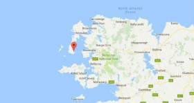 A major sea search is underway off the Co Mayo coast, near Blacksod for a Coast Guard Helicopter