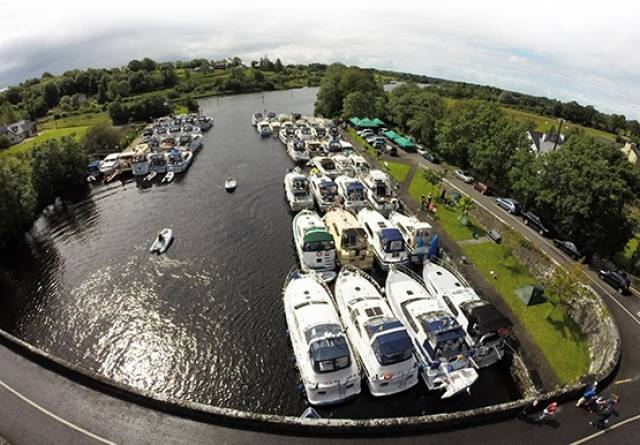 56th Shannon Boat Rally Visits Athlone