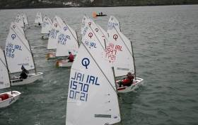 34 Optimists raced in Kinsale