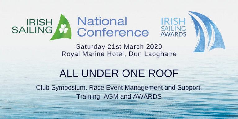 'All Under One Roof' For Irish Sailing National Conference & Awards Next Month