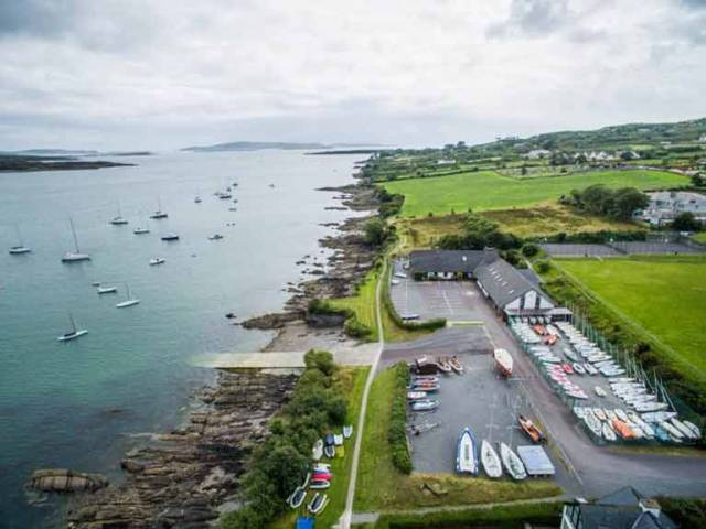 The 420 dinghy season kicks off with Schull training and Munster Championships