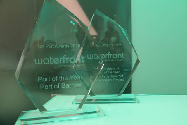 Irish Sea Port of Barrow Wins UK Port of The Year Award At Annual Conference in London
