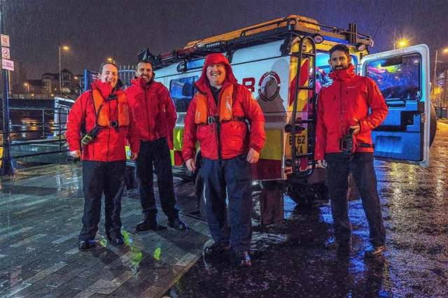 Busy Times for Lagan Search & Rescue in Belfast Harbour