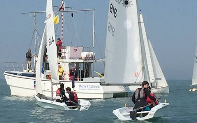 Light winds for the start of today's DBSC dinghy and sportsboat starts