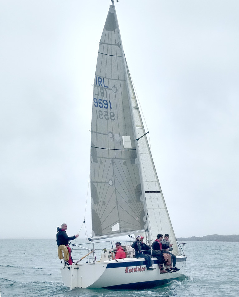 Tony O Brien's 'Excelsior' Wins First Race of West Cork Sailing Season