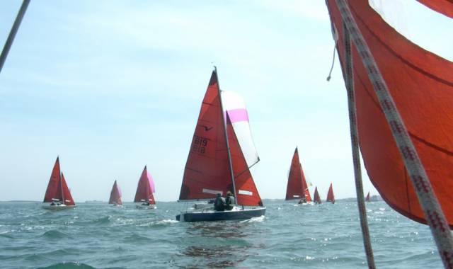 Squibs racing at the Holyhead National Championships
