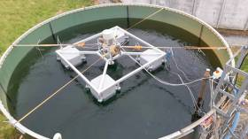 Full-scale demonstration of a new aeration technology for fish farms