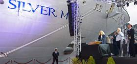 The christening ceremony of Silver Muse took place in Monte Carlo, Monaco. The ultra-luxurious cruiseship is to depart Villefranche, France this day next week on a pre-inaugural 'Venetian Society Cruise'