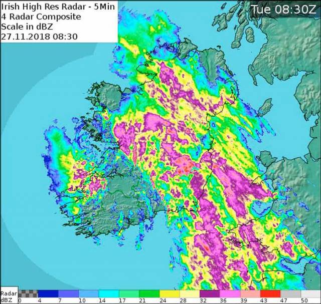 Gale Warning For Irish Coastal Waters As Storm Diana Comes To Batter The Country