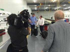 Media launch for Southern Spars' collaboration with Cycling New Zealand