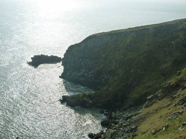 Howth and its cliff path are popular with walkers
