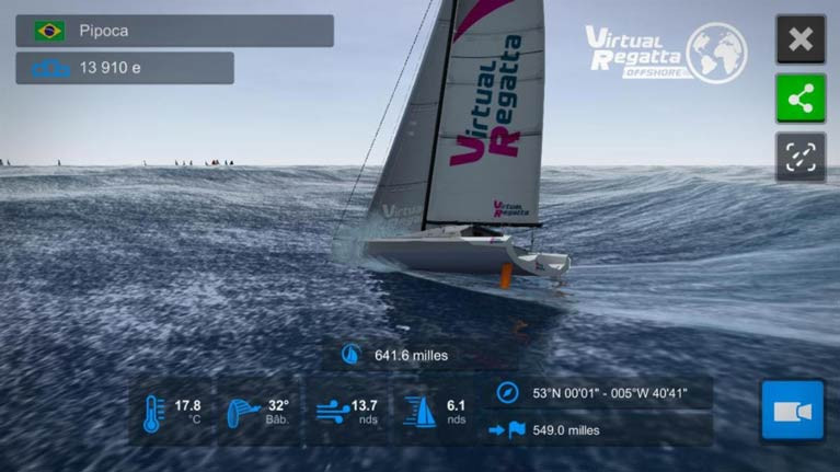The new Fastnet Race Virtual race starts on August 3rd
