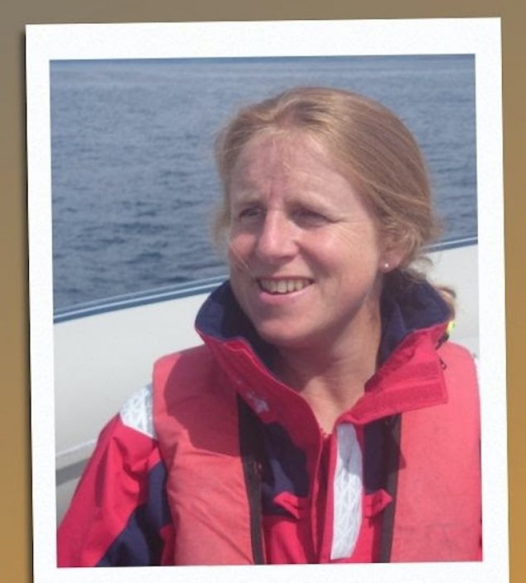 Irish Sailing's Regional Development Officer, Gail MacAllister.