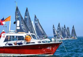 The SB20s are heading to Howth for the first event of their 2019 season