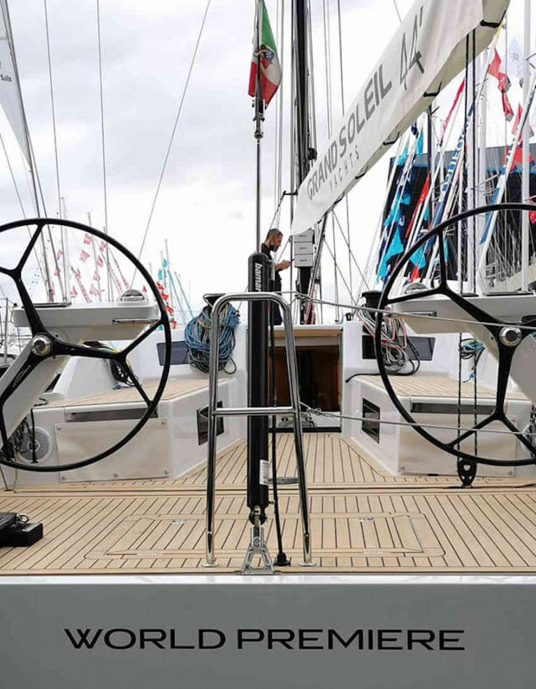 Grand Soleil's GS44 Performance Premieres At Genoa Boat Show