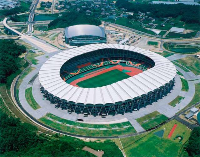 Fukuroi City and the Ecopa Stadium (above) have been selected as the pre-games training camp for Team Ireland prior to Tokyo 2020