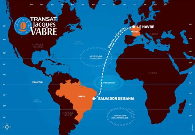 The start of the Transat Jacques Vabre will be November 5th