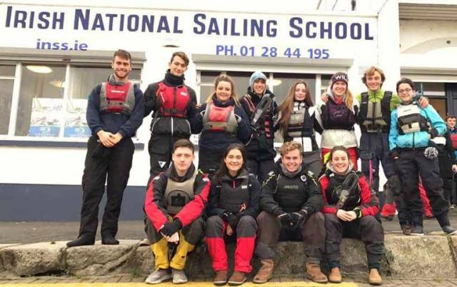 Sailing Instructors at the INSS in Dun Laoghaire Harbour