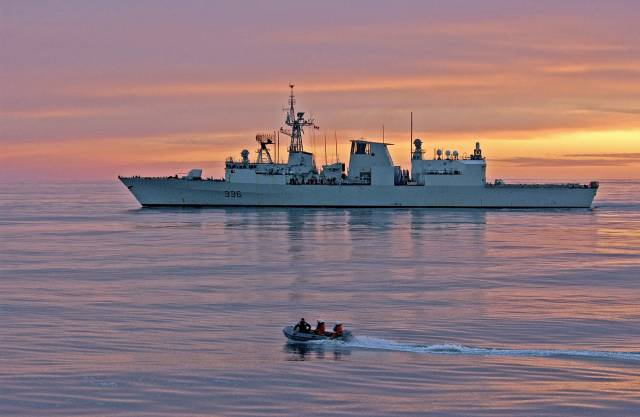HMCS Fredericton joins NATO Operation Reassurance (with en route call to Dublin next week) as part of measures of security and stability in central and eastern Europe