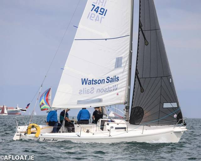 Philip Watson's Jam Jar upheld the J80 class honour with third-place finish