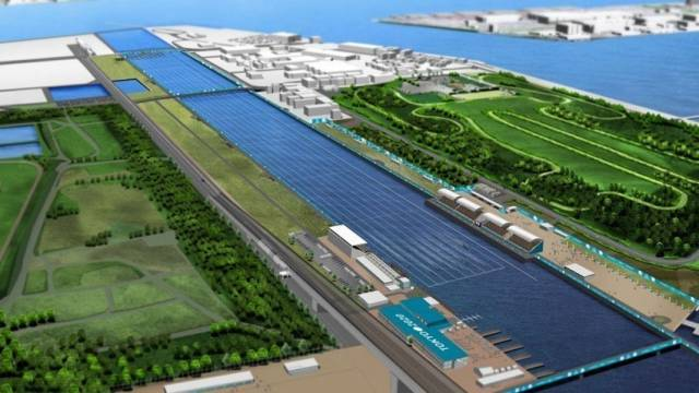 Tokyo Bay's Sea Forest is still expected to host rowing and canoe sprint events for the 2020 Olympics