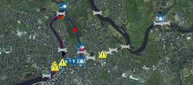 The stretch of navigation from Limerick City to Parteen Weir is closed to navigation due to continuing high flow rates