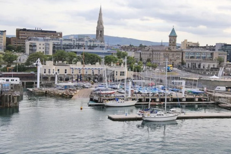 File image of the Royal St George Yacht Club in Dun Laoghaire