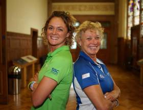 Nikki Henderson and Wendy Tuck are in the running to be the first female winner of a round-the-world yacht race