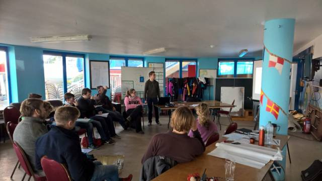 Senior Instructor training at Howth Yacht Club