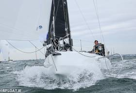 Conor Fogerty's foiling Figaro 3 was campaigned offshore in 2018