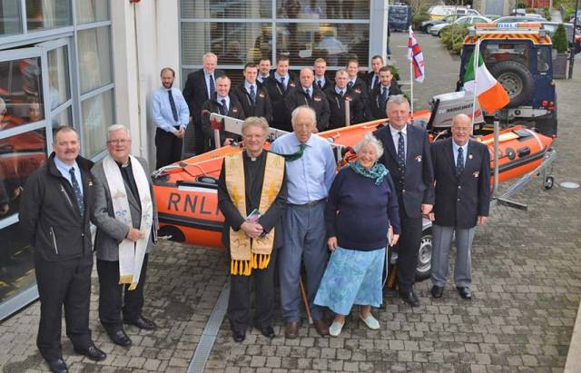 Clifden RNLI Name New Inshore Lifeboat 'Celia Mary'