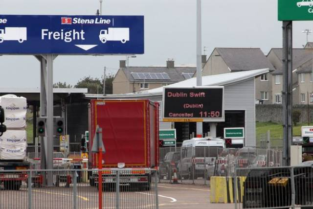 A second protest is to be held on Saturday evening (March 23) at around 10pm, where Holyhead Port in north Wales could be blockaded.