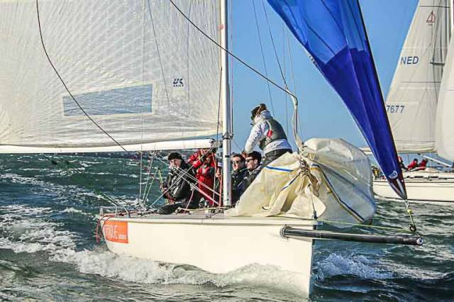 The 1720 Optique has taken an early lead in DBSC's Spring Chicken Series on Dublin Bay. Results are downloadable below