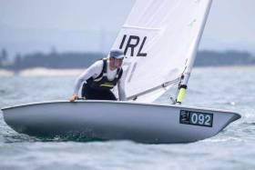 Rio rep Finn Lynch is one of three Irish sailors chasing the final two Tokyo Olympic places on offer next April in Genoa against stiff competition