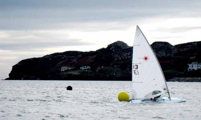 Laser racing in Howth