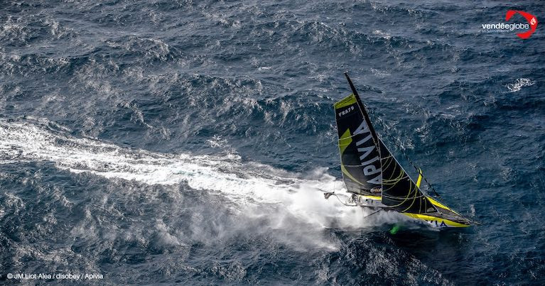 French skipper Dalin, 36,  was one of the outstanding favourites to win, has been the 24,400 nautical mile race's most consistent, regular leaders
