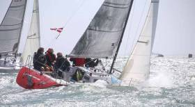 Alan	Morrison's Starflash from Ballyholme YC and Royal Ulster YC is one of many Irish Sea visitors heading for Dun Laoghaire in July. See entry list below
