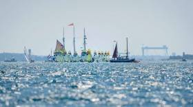 Kiel Week - the 49erfx race course