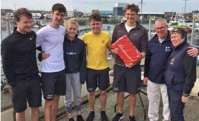 Cork all the Way in Student Keelboat National Selection Series at Howth