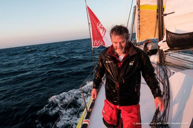 Enda O'Coineen Diverts in Vendee Globe For 'Major Issue' Repairs