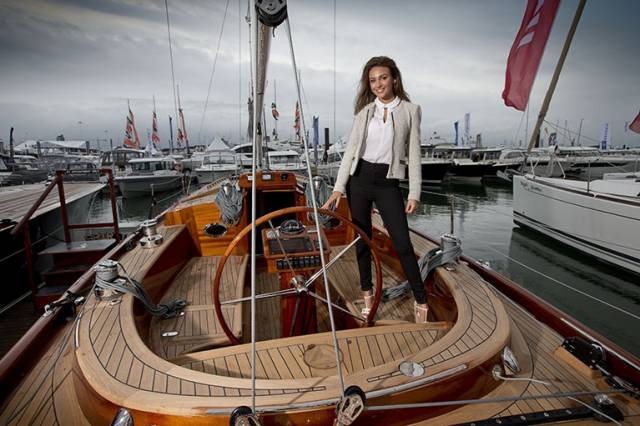 Michelle Keegan launches this week's Southampton Boat Show